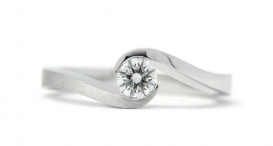 R1106-282 - white gold and diamond - foto č. 59