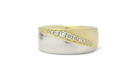 R1114-291 - white and yellow gold, diamonds - foto č. 51