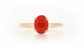 50-70922-6050-FIRE OPAL 8x6mm 0,81ct (9960,-) 901C - foto č. 24