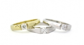 R1046-235 - white and yellow gold, diamonds - foto č. 95
