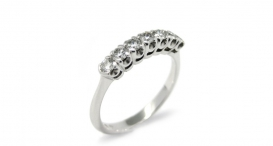 R1076 - white gold and diamonds - foto č. 75